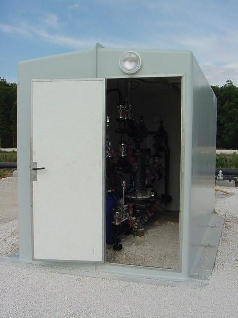 Cabines shelters grandes dimensions MEGA EURO 4m Puisage 6