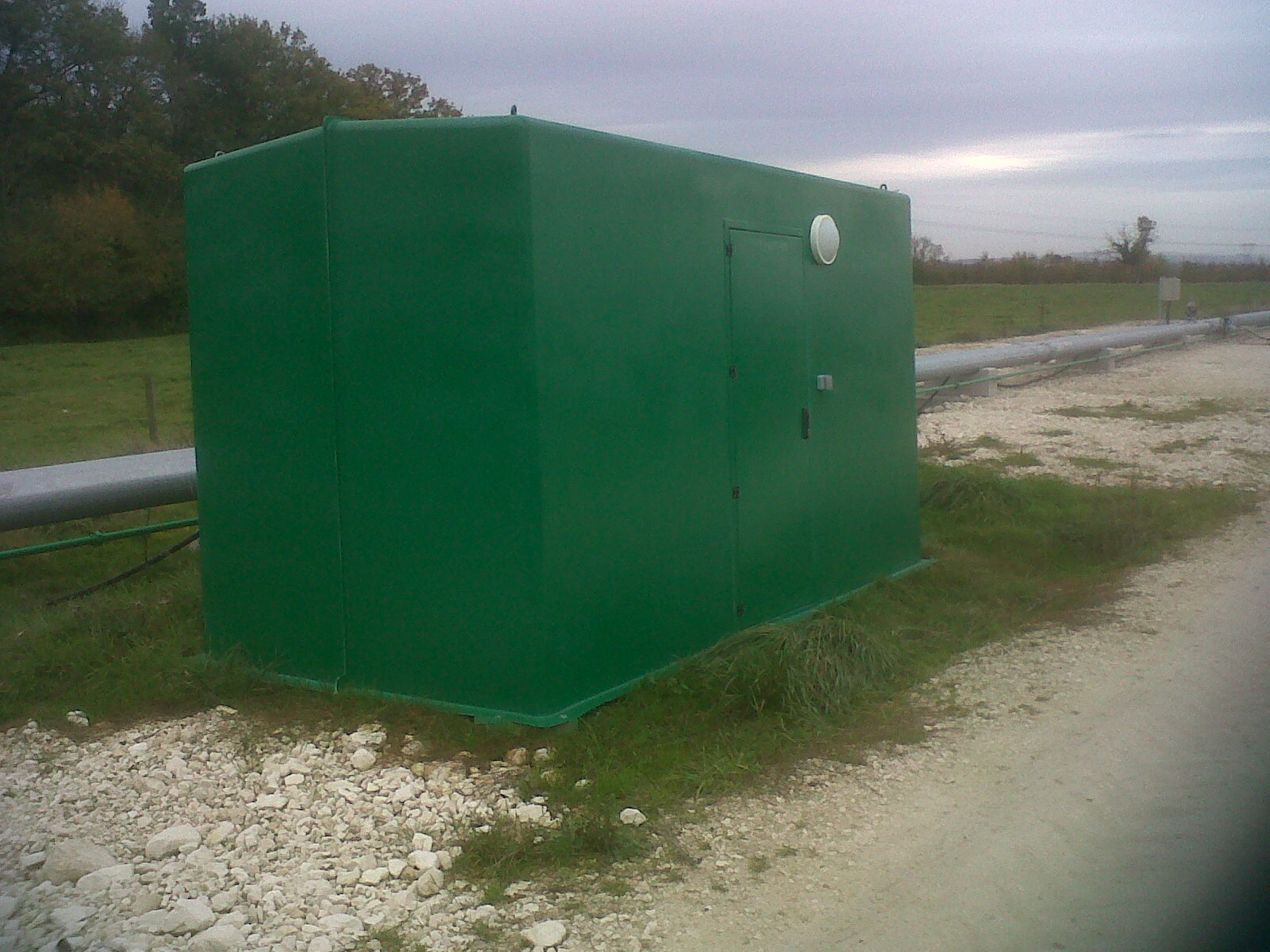Cabines shelters grandes dimensions MEGA EURO 4m Puisage 1