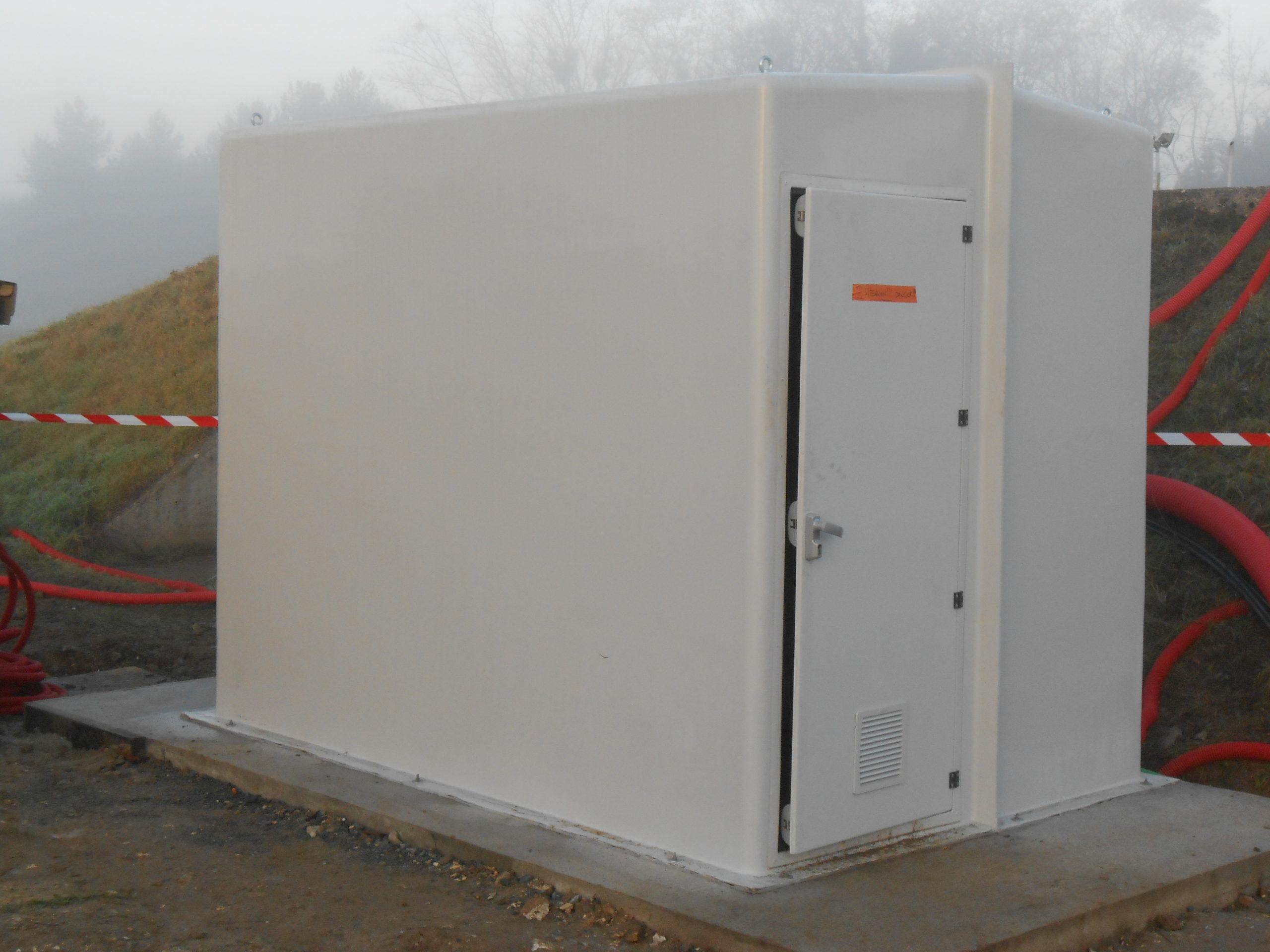 Cabines shelters grandes dimensions MEGA EURO