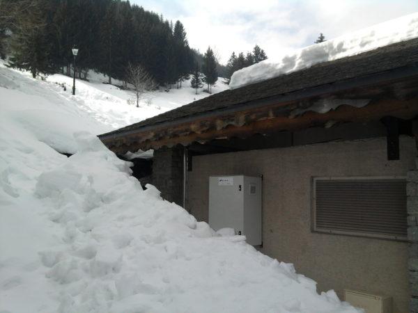 Mini euro Sous la neige