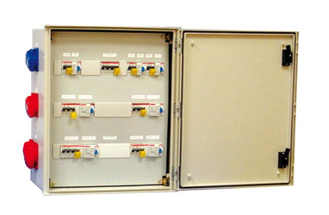 armoires coffrets polyester mini euro prise2 xl