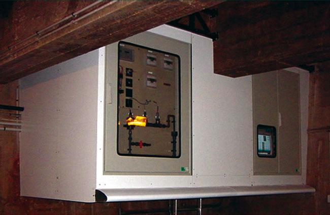 armoires coffrets polyester traitement eaux xl