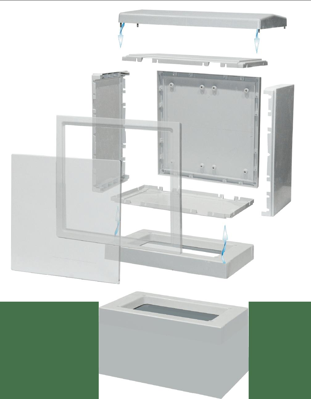 système d'assemblage des armoires euromedium